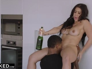 Cuddly Latina Gets Dominated By A Famous Rapper - Jason Luv And Valerie Kay